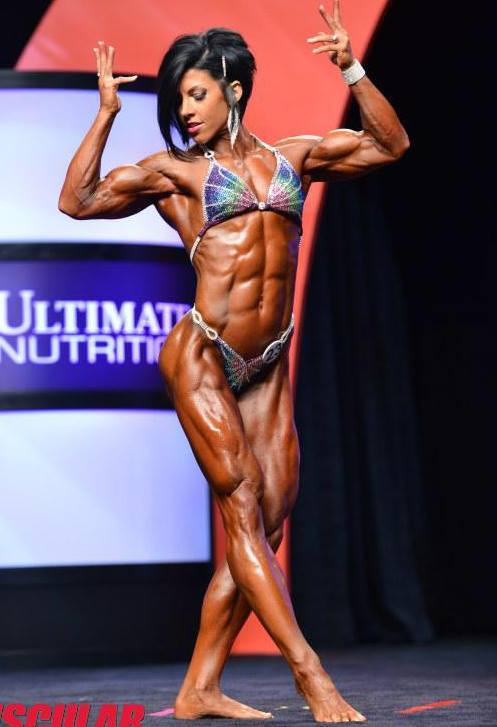 Oksana Grishina takes her 4th straight Ms. Fitness